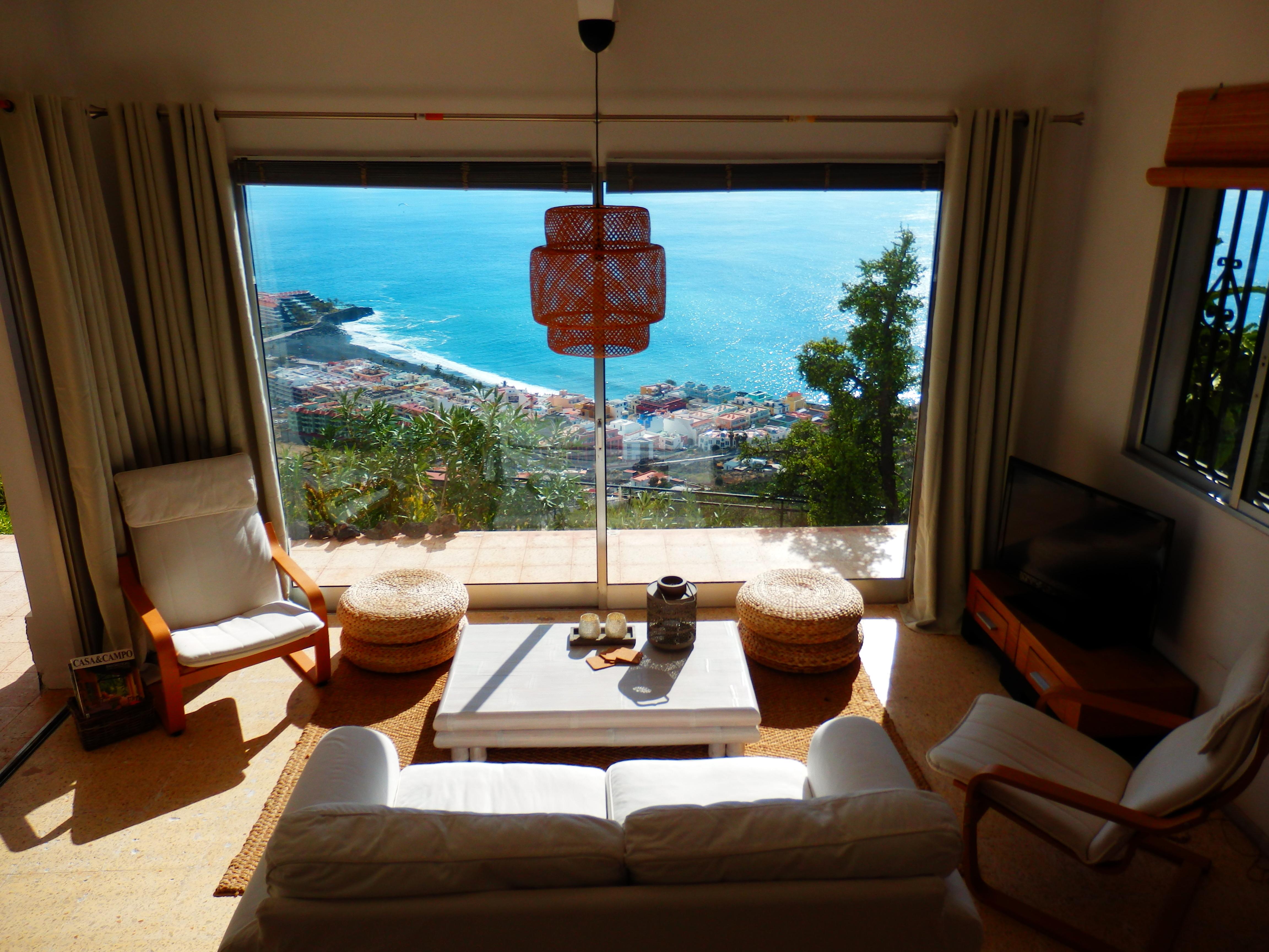 vakantiehuis Villa Magica met zwembad op La Palma